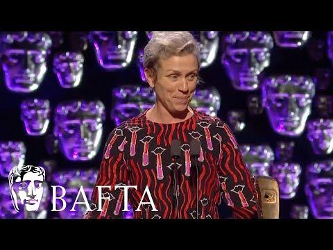 Frances McDormand wins Leading Actress | EE BAFTA Film Awards 2018
