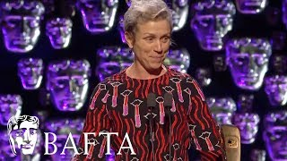 Frances McDormand wins Leading Actress | EE BAFTA Film Awards 2018