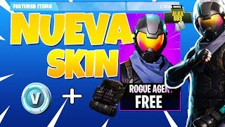 FORTNITE NEW LEGENDARY SKIN + 600 V-BUCKS + MOCHILA AVAILABLE ? ALKA593