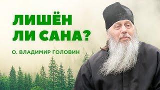 Лишен ли сана о. Владимир Головин?