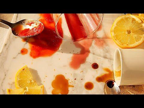 Faber - Pulire macchie di vino, caffè, pennarelli da pavimento in marmo, ceramica, cotto - fai da te