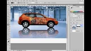 УРОК Photoshop #1: Реалистичные Отражения и Тени