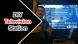 Digital DVB-S Amateur Television Station With LimeSDR Mini and a Satellite Receiver 23CM 1.2GHz