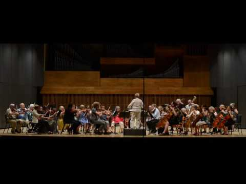 MMR String Orchestra playing Mozart and Herbolsheimer