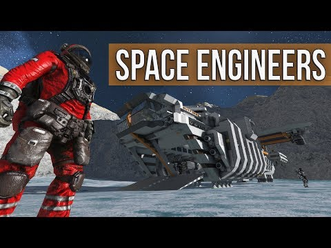Space Engineers - Exploration & Survival! (Mod all the things!)