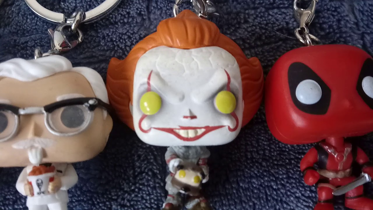 Funko pop 2020 review all favorite characters 55 keychain part 1