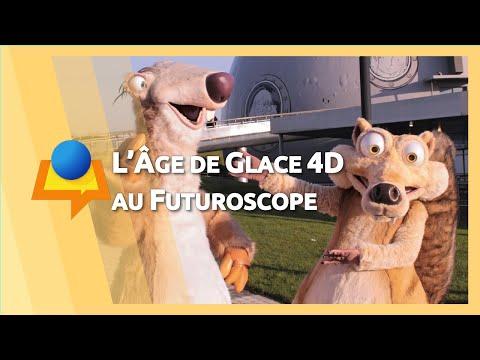 L'Âge de Glace, l'expérience 4D au Futuroscope