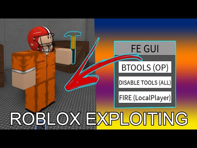 Roblox Fe Btools - Roblox Exploiting 11 Destroying Redwood Prison With Fe