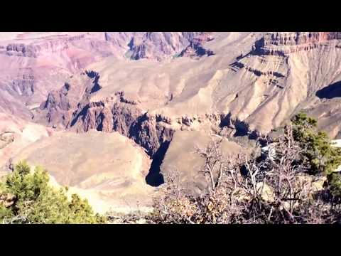 The Grand Canyon!!!(277 miles long 18 miles wide over 1 mile deep)