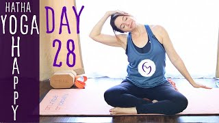 Day 28 Hatha Yoga Happiness: Revisit your dreams and goals!