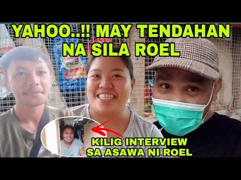 YAHOO..!! MAY TENDAHAN NI SILA ROEL ( KILIG  INTERVIEW  SA ASAWA NI ROEL ) -  (2020)