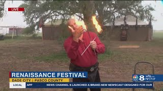 Bay Area Renaissance Festival kicks off at new location in Dade City