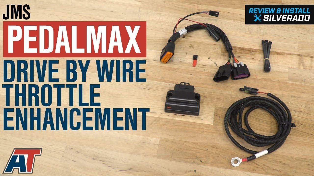 JMS PedalMAX Drive By Wire Throttle Enhancement Device (08-18 Silverado  1500)