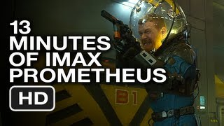 Prometheus IMAX 13 Minutes of Haunting Slow Motion - Movie Trailer HD