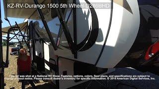 KZ-RV-Durango 1500 5th Wheel-D286BHD