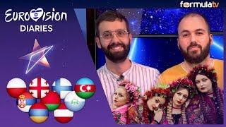 REACCIÓN Polonia, Finlandia, San Marino, Azerbaiyán y otros países ESC 2019 – Eurovisión Diaries