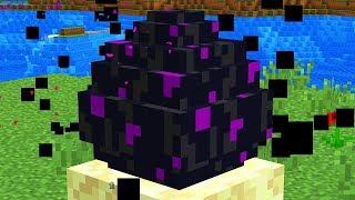 Как Найти Яйцо Эндер Дракона в Майнкрафт ПЕ выживание моды видео игра мультик для детей Minecraft PE