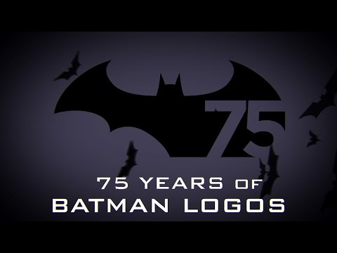 Animated History of the Batman Logo
