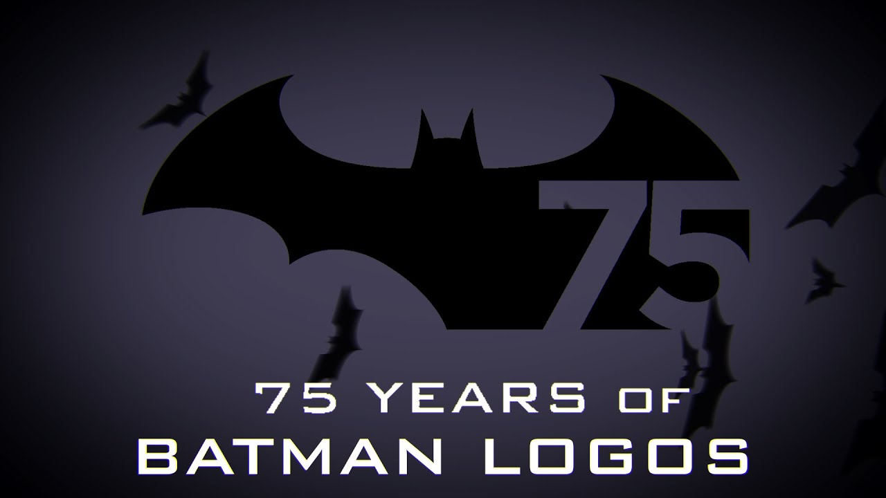 Animated History Of The Batman Logo Youtube
