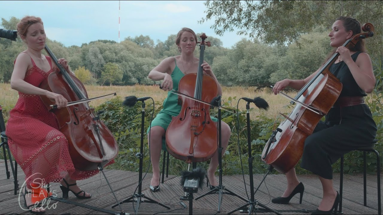 I Loves You Porgy - George Gershwin (CELLO TRIO COVER by she plays cello)