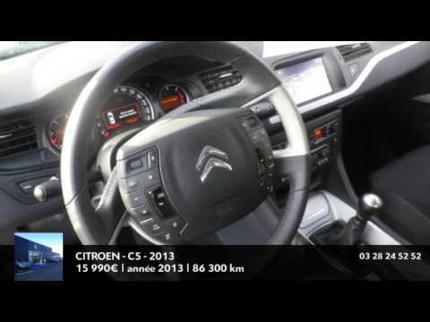 annonce occasion citroen c5 2 0 hdi160 fap business 2013 youtube. Black Bedroom Furniture Sets. Home Design Ideas