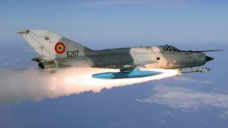В США сравнили советский МиГ-21 с истребителем F-22 Raptor