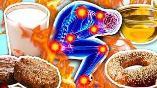 9 опасных ингредиентов, которые вызывают Воспаления