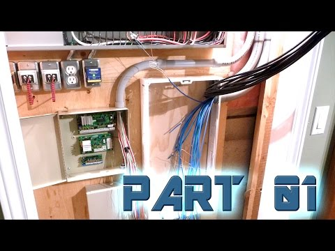 Electrical Closet Re-Wire & Rehab (Part 1)