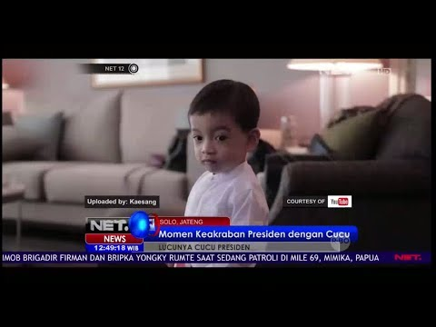 Kenalan Sama Si Imut Jen Ethes, Cucu Sematawayang Presiden Jokowi