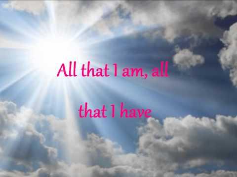 Lord I offer you my life(Hillsong)Lyrics