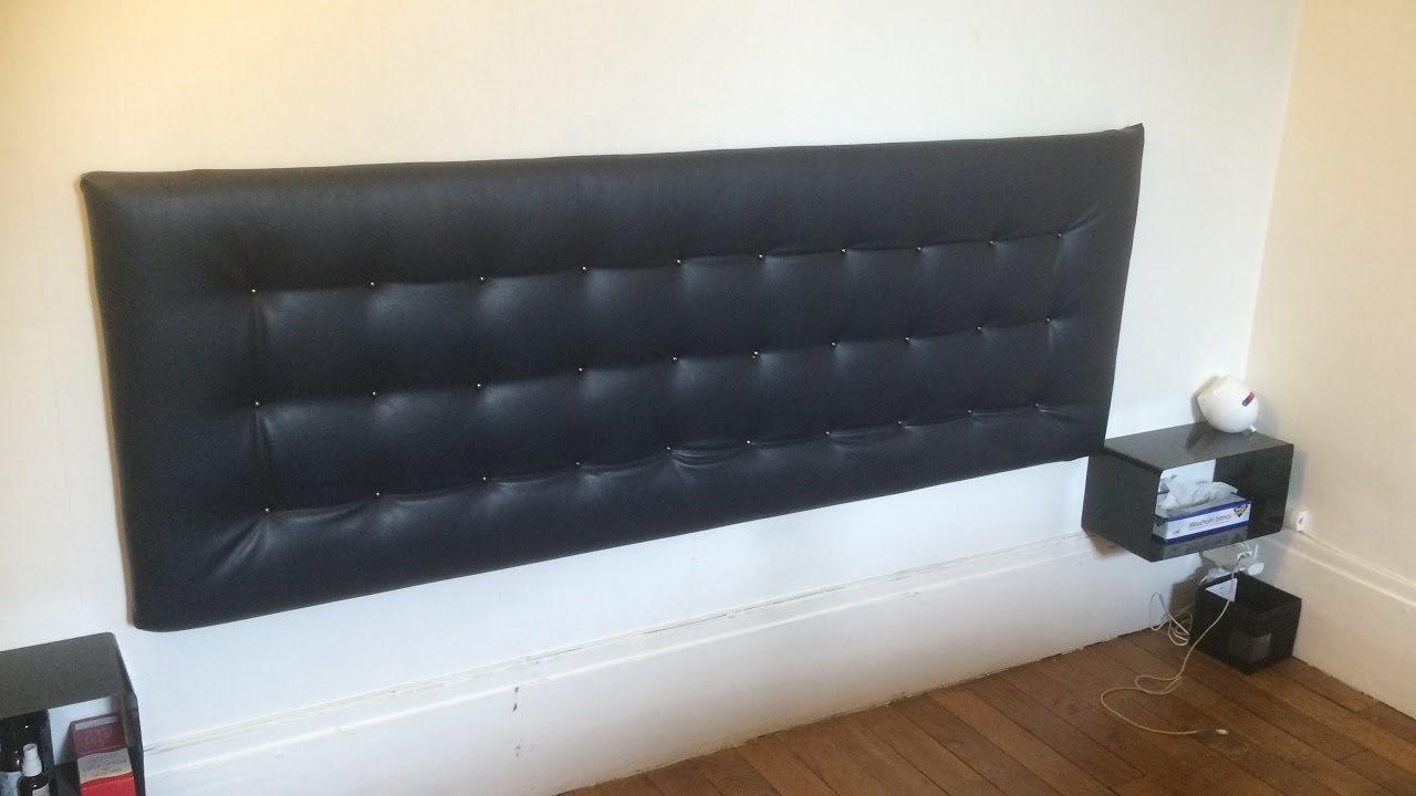 Pose Tete De Lit Diy Upholstered Headboard