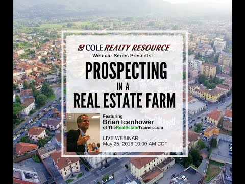 Prospecting Scripts for Farming Neighborhoods - Cole Realty Resources Webinar