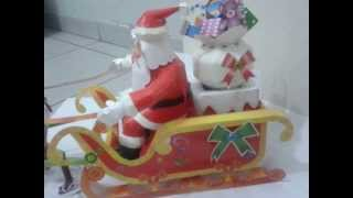 Papai Noel Feito em Papercraft /  Santa Claus Papercraft