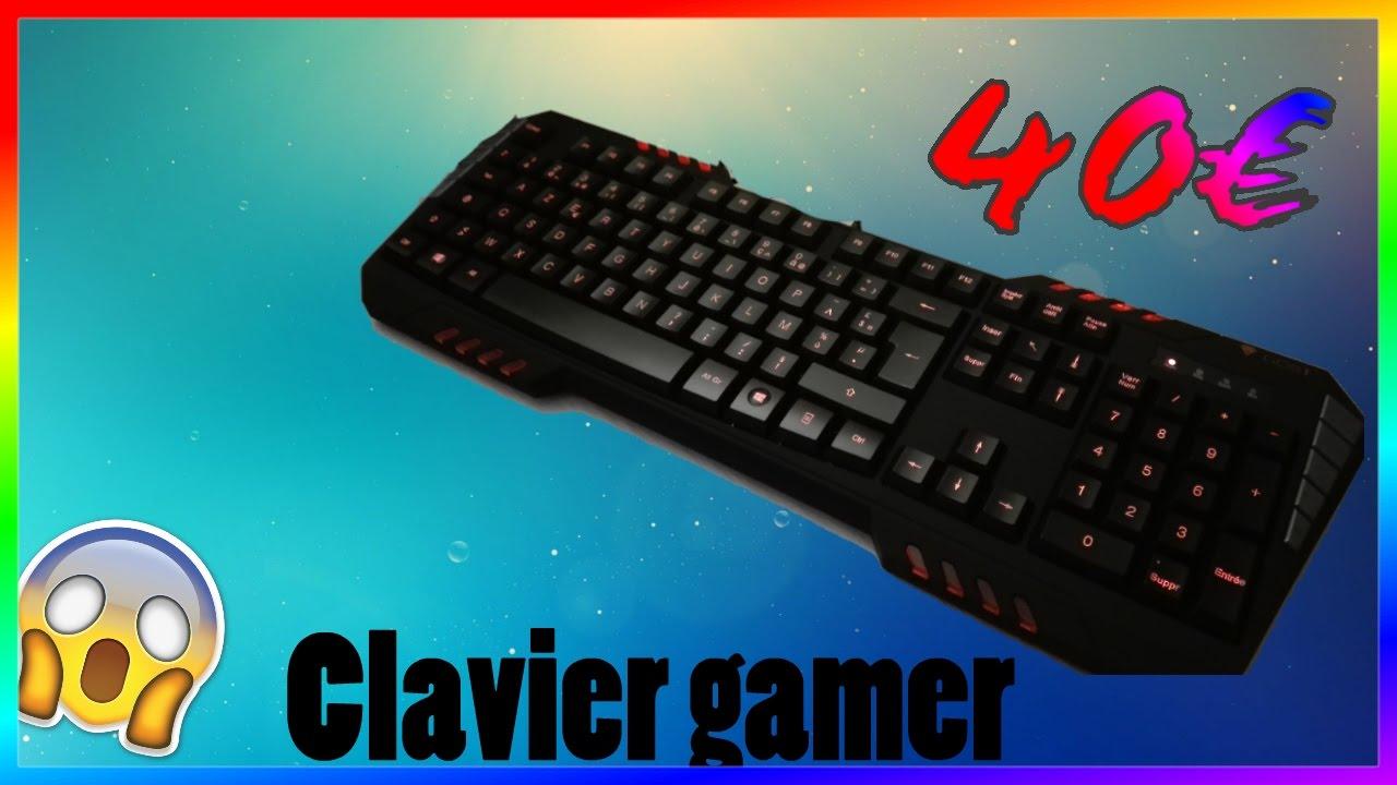 clavier gamer pas cher unboxing du gost kb50 youtube. Black Bedroom Furniture Sets. Home Design Ideas