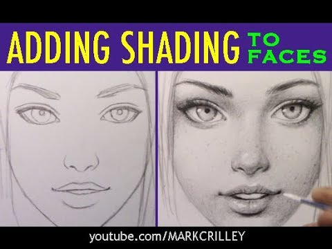 Illustrator Mark Crilley's tutorial on adding shading to faces
