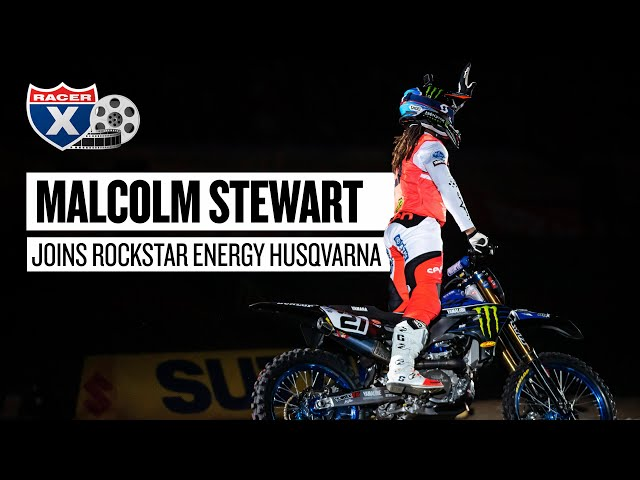Malcolm Stewart Signs Two-Year Deal with Rockstar Husqvarna   Racer X Rapid News
