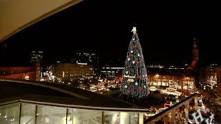 Dortmunder Weihnachtsbaum 2016 Eröffnung (wie er angeht)