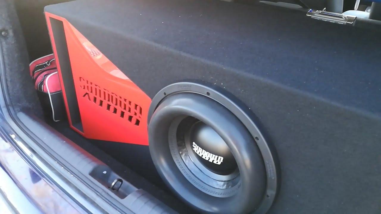 Sundown Audio X 12 V 2 Subwoofer Excursion Youtube