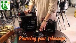 Powering your telescope