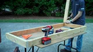 How To Build A Kitchen For Cabin/workshop Pt. 1