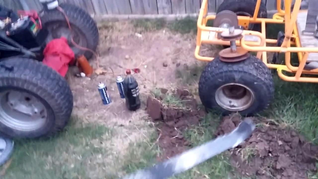 Cheapest Quickest Backyard Aluminum Foundry Forge Youtube
