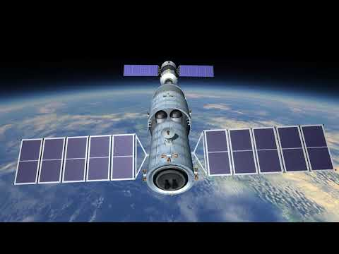 Heavenly Palace - China's First Space Station (Kerbal Space Program - RSS/RO)