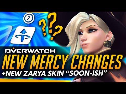 "Overwatch | NEW MERCY CHANGES + NEW ZARYA SKIN ""SOON-ISH"" [PTR Patch Roundup]"