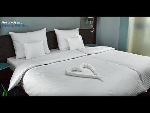 2 Bettdecken  Handtuch Falten Herz Perfekt F252;r Valentinstag