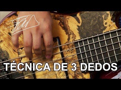 Técnica 3 dedos - Three finger technique - Felipe Andreoli