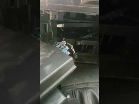 2003 CTS Radio Deck Removal