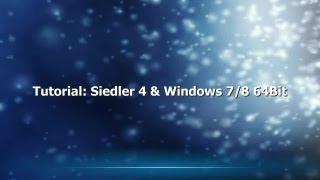 Tutorial: Siedler 4 & Windows 7/8 64Bit