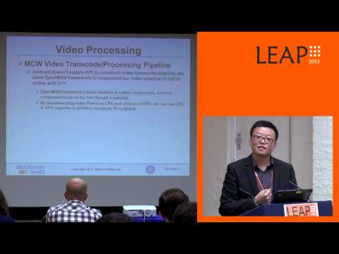 LEAP 2013 : Renderscript Accelerated Image and Video Processing