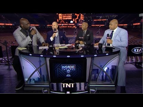 FULL: Inside the NBA   Shaq & Charles Barkley react to Raptors def Bucks 100-94; Kawhi: 27 Pts