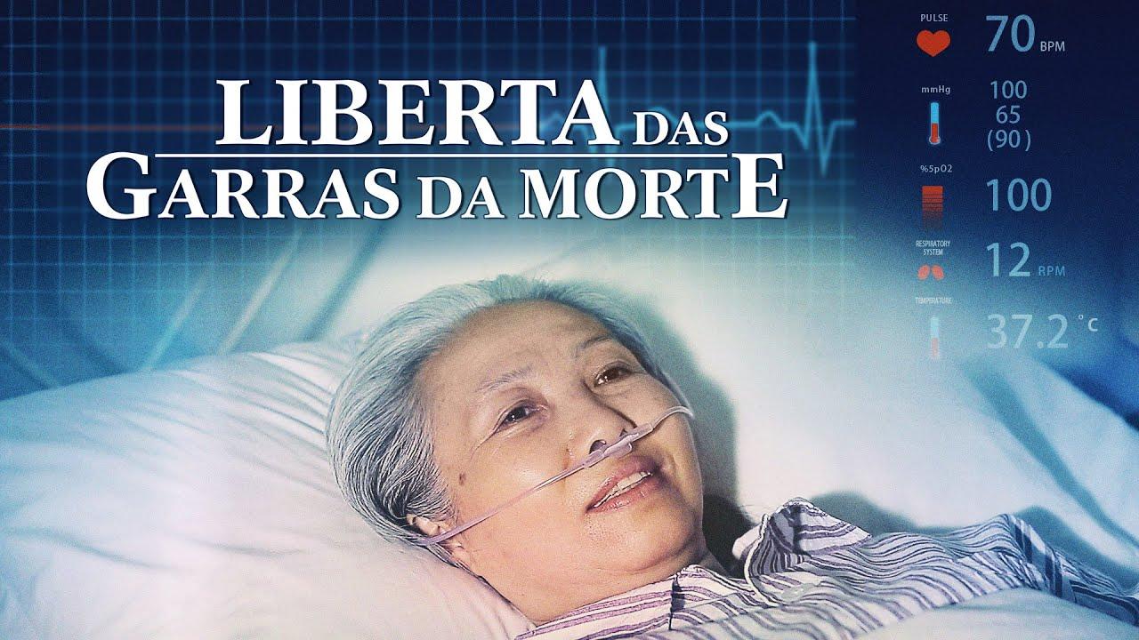 """Filme Evangélico de Fé """"Liberta das garras da morte"""" Deus me deu uma segunda vida"""
